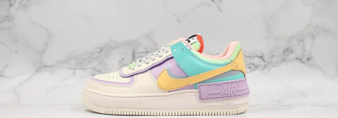 "Nike Air Force 1 Shadow ""Tropical Twist"" Sneakers Style: CI0919-101 Running Shoes"