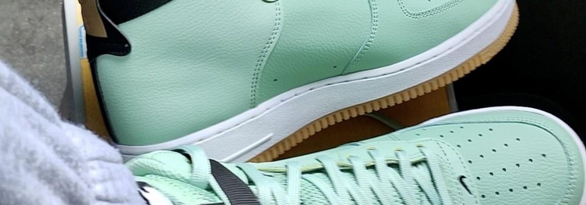 Nike Air Force 1 High Custom Green CT2306-300