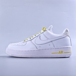 "WMNS Air Force 1 Low Lux White ""Chrome Yellow"""