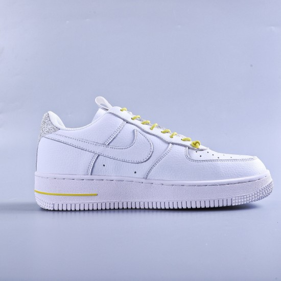 """WMNS Air Force 1 Low Lux White """"Chrome Yellow"""""""