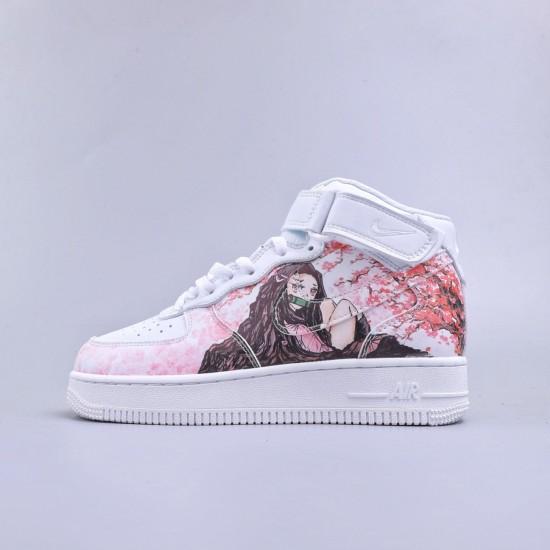 "Nike Air Force 1 High 07 ""White Pink"""