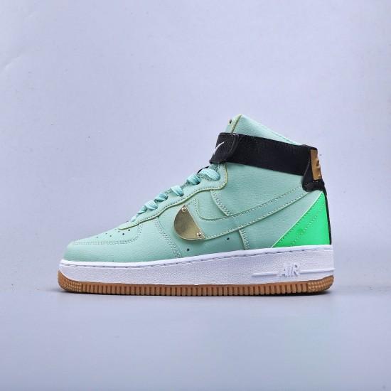 Nike Air Force 1 High Custom Green