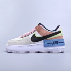 "WMNS Air Force 1 Shadow Photon ""Dust Crimson Tint"""