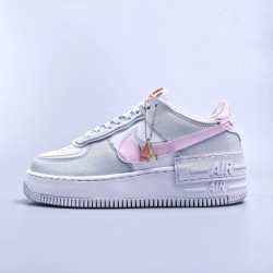 "WMNS Air Force 1 Shadow ""Photon Dust Pink Foam"""