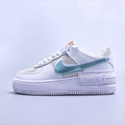 "WMNS Air Force 1 Shadow White ""Hydrogen Blue"""