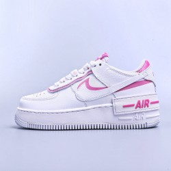 "WMNS Air Force 1 Shadow White ""Magic Flamingo"""