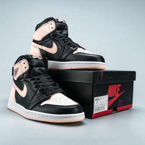 "Air Jordan 1 Retro High Black ""Crimson Tint"""