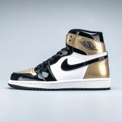 "Air Jordan 1 Retro High ""Gold Toe"""
