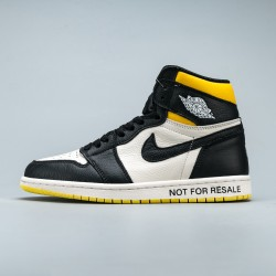"Air Jordan 1 Retro High ""Not for Resale"" Varsity Maize"